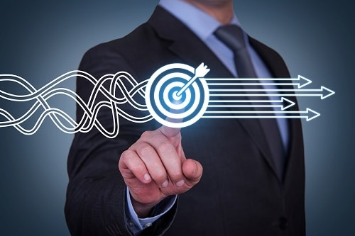 Target weighting market research data
