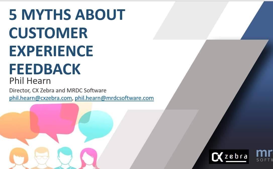 5 myths about CX Feedback