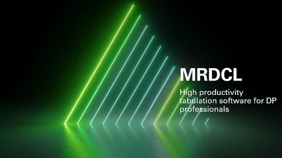 MRDCL scripted tabulation software