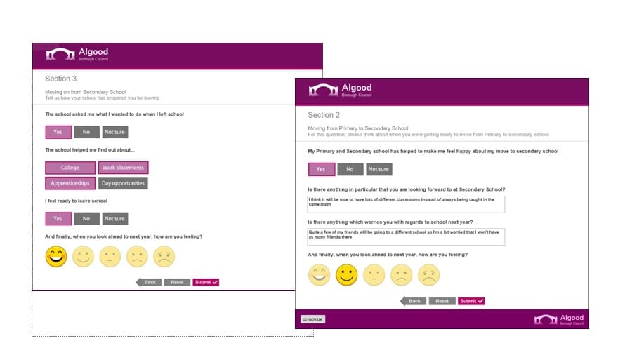 Branding questionnaires is easy to apply