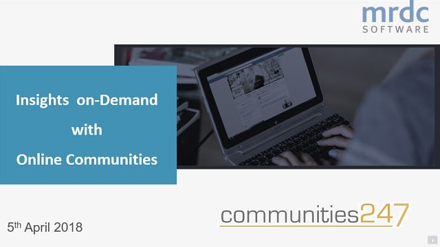 Getting the most from online communities