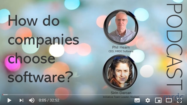 how do companies choose software