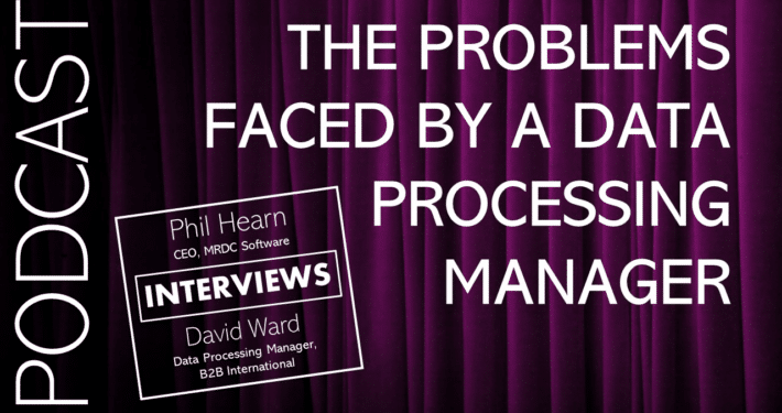 Problems faced by a data processing manager